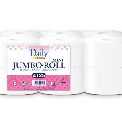 Toalettpapír 2 rét. Fehér Daily Gold MINI