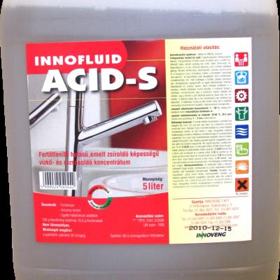 Innofluid Acid S vízkőoldó 5 literes