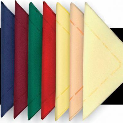Air Laid textilhatású 40x40 cm-es szalvéta színes