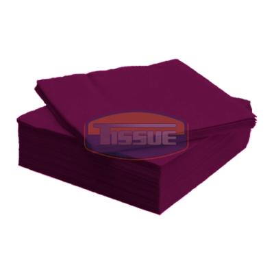 Tissue Exclusive 33x33 cm-es papírszalvéta 2 rétegű bordó