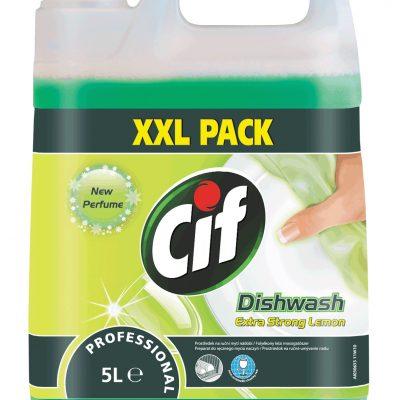 Cif Prof. Dishwash Extra Strong Lemon mosogatószer 5 literes
