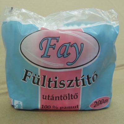 Fay fültisztító 200 db-os utántöltő