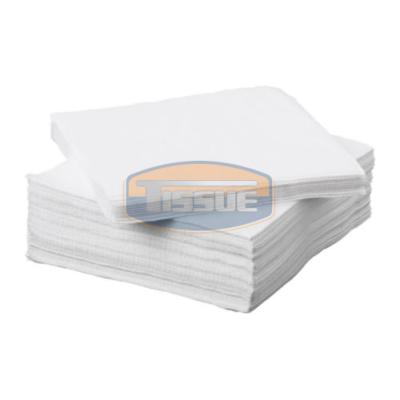 Tissue Exclusive 25x25 cm-es koktél szalvéta 2 rétegű fehér