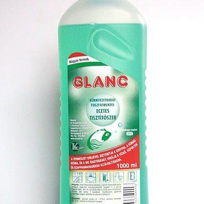Glanc ecetes tisztítószer 1 l