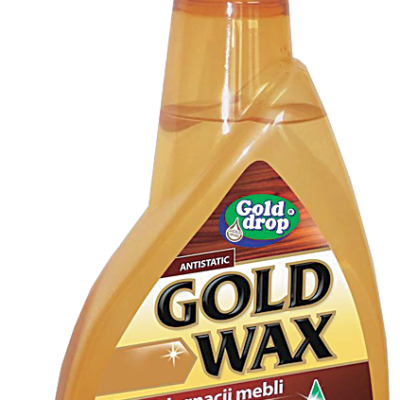 Gold Wax bútorápoló(por stop spray 400ml