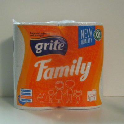 Grite Family 4 tekercses 3 rétegű toalettpapír