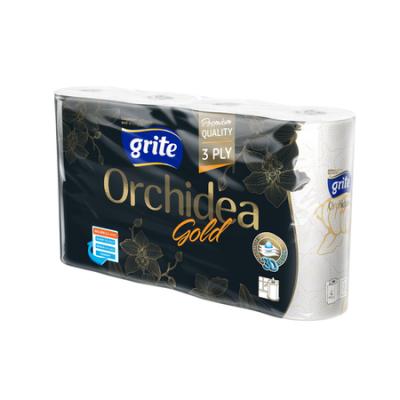 Grite Orchidea Gold 3 rétegű papírtörlő 4 tekercses