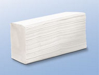 Hajtogatott kéztörlő 100 lapos C fehér 2 rétegű Daily