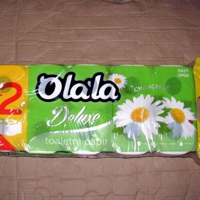 Olala Kamilla 10 tekercses 3 rétegű toalettpapír