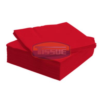 Tissue Exclusive 33x33 cm-es papírszalvéta 3 rétegű piros