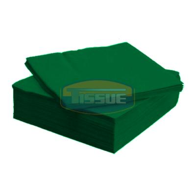 Tissue Exclusive 33x33 cm-es papírszalvéta 2 rétegű sötétzöld