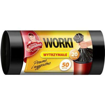 WNS-0509 HDPE szemeteszsák Anna Zaradna 20 l 50 db