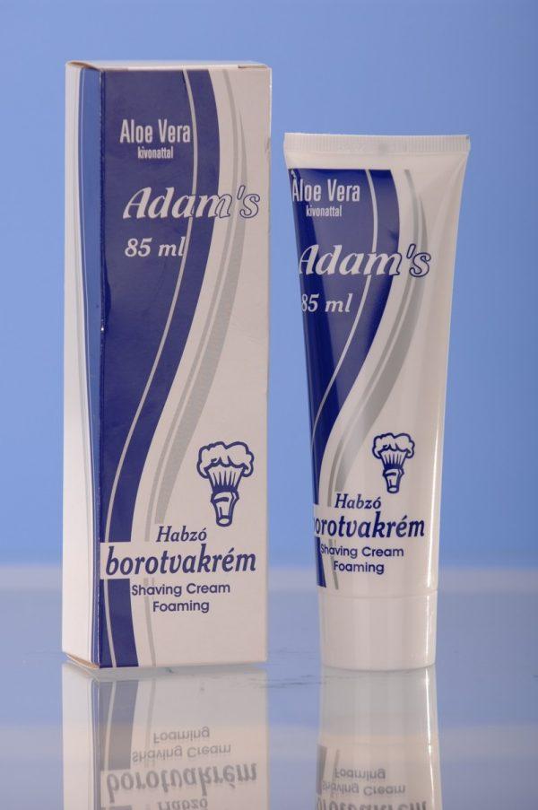Adam's habzó borotvakrém 85 ml Aloe Vera kivonattal