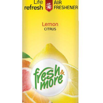 Fresh & More légfrissítő 300ml Citrom