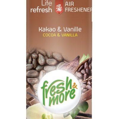 Fresh & More légfrissítő 300ml Kakaó és vanília