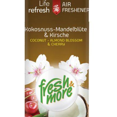 Fresh & More légfrissítő 300ml kókusz mandulavirág cseresznye