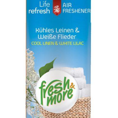 Fresh & More légfrissítő 300ml Tisztaruha és Fehérakác