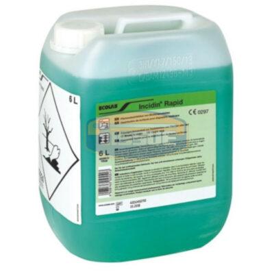 Incidin Rapid felületfertőtlenítő 6 literes